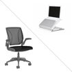 Picture of Grey World Chair & L6 Laptop Holder